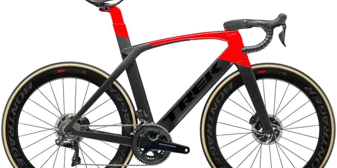 The new TREK Madone SLR Race Bike